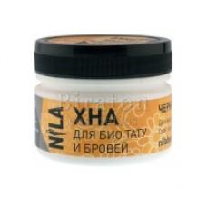 NILA хна для био тату и бровей коричневая (50 грамм)