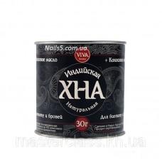 VIVA хна для биотату и бровей черная (30 грамм)